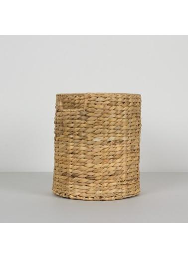 Chakra Odra Yuvarlak Sepet S 28x28x33 cm Natural Kahve
